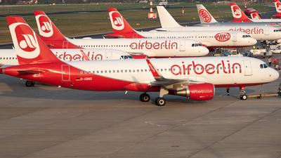 D-ABDO - Airbus A320-214 - Air Berlin
