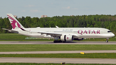 A picture of A7AMG - Airbus A350941 - Qatar Airways - © Luba Ostrovskaya