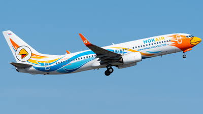 A picture of HSDBW - Boeing 73788L - Nok Air - © Amarase Pamarapa