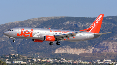 A picture of GJZBL - Boeing 7378MG - Jet2 - © Alex Maras