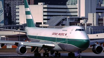VR-HIB - Boeing 747-267B - Cathay Pacific Airways