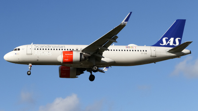 A picture of EISID - Airbus A320251N - SAS - © subing27