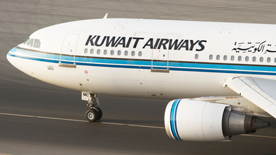 9K-AMC - Airbus A300B4-605R - Kuwait Airways