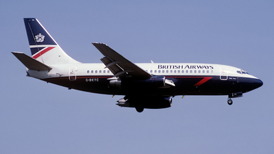 G-BKYC - Boeing 737-236(Adv) - British Airways