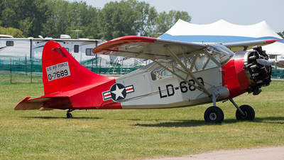 N52777 - Stinson L-5 Sentinel - Private