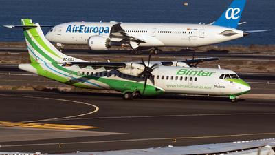 A picture of ECKGJ - ATR 72500 - Binter Canarias - © Roman Valladares