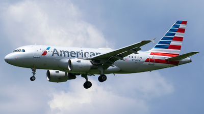 N754UW - Airbus A319-112 - American Airlines