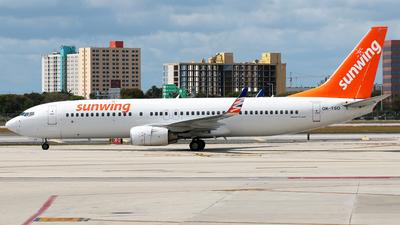 OK-TSO - Boeing 737-8GQ - Sunwing Airlines