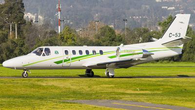 C-53 - Cessna 550B Citation Bravo - Chile - Police