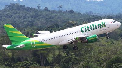 A picture of PKGLU - Airbus A320214 - Citilink - © Astrid Rian R