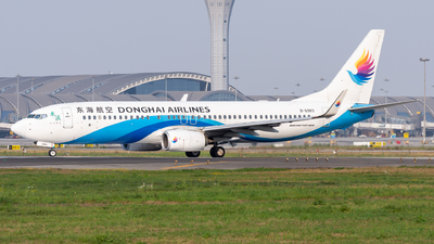 A picture of B6983 - Boeing 73783Z - Donghai Airlines - © TPS00
