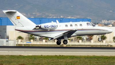 A picture of ECIVJ - Cessna 525 CitationJet CJ1 -  - © huxoavi