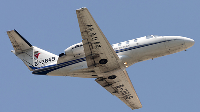 B-3649 - Cessna 525 CitationJet 1 Plus - Civil Aviation Flight University of China (CAFUC)