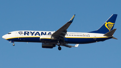 A picture of EIDWF - Boeing 7378AS - Ryanair - © Mateo León