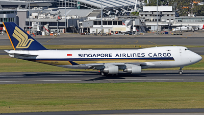 A picture of 9VSFN - Boeing 747412F(SCD) - Singapore Airlines - © Juan Contreras