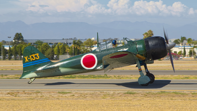 N712Z - Mitsubishi A6M3 Zero - Commemorative Air Force