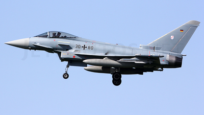 30-80 - Eurofighter Typhoon EF2000 - Germany - Air Force