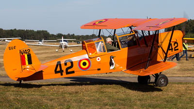 OO-WIL - Stampe and Vertongen SV-4B - Private