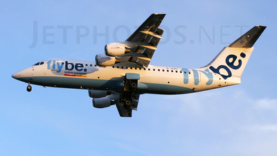 G-JEBC - British Aerospace BAe 146-300 - Flybe