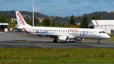 A picture of ECLKX - Embraer E195LR - Air Europa - © Eduardo Seijo