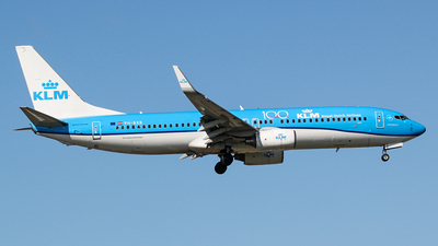 A picture of PHBXB - Boeing 7378K2 - KLM - © Kees Marijs