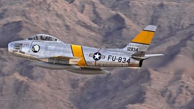 NX186AM - North American F-86F Sabre - Private