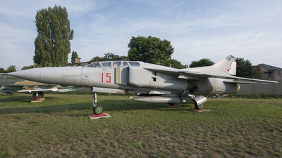 15 - Mikoyan-Gurevich MiG-23UB Flogger C - Hungary - Air Force