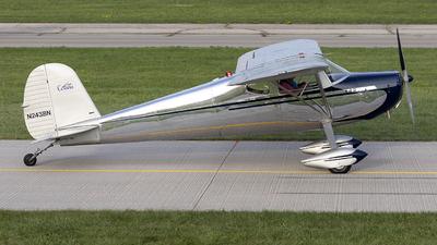 N2438N - Cessna 140 - Private