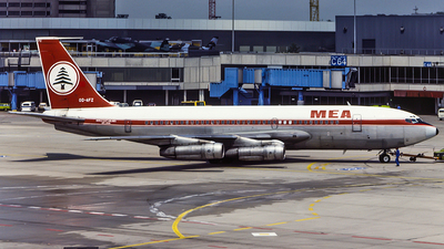 OD-AFZ - Boeing 720-023B - Middle East Airlines (MEA)