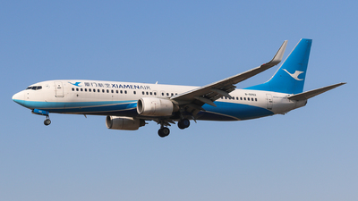 A picture of B5552 - Boeing 73784P - Xiamen Air - © Aircraft carrier FX