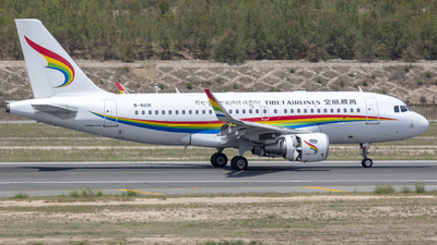 A picture of B8691 - Airbus A319115 - Tibet Airlines - © Eric Wang