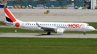 F-HBLH - Embraer 190-100LR - HOP! for Air France