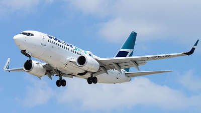 A picture of CFKIW - Boeing 7377CT - WestJet - © Yari Strban