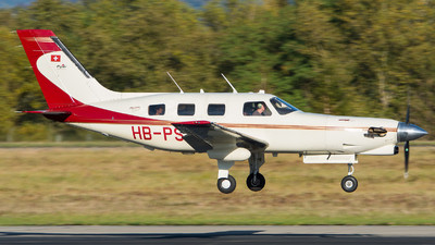 HB-PST - Piper PA-46-350P Malibu Mirage/Jetprop DLX - Private