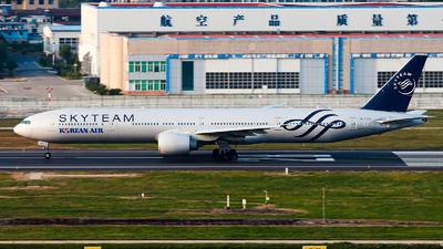 A picture of HL7783 - Boeing 7773B5(ER) - Korean Air - © ShenYang Doll