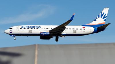A picture of TCSOP - Boeing 7378AS - SunExpress - © Alp AKBOSTANCI