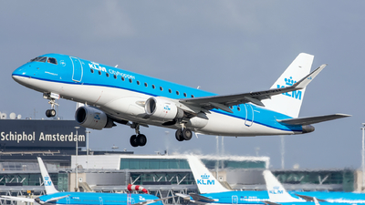 A picture of PHEXH - Embraer E175STD - KLM - © Dutch
