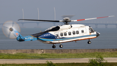 B-7362 - Sikorsky S-92A Helibus - China Southern Airlines