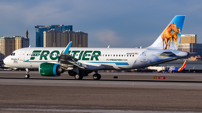 N343FR - Airbus A320-251N - Frontier Airlines