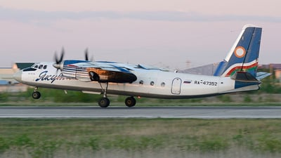 RA-47352 - Antonov An-24RV - Yakutia Airlines
