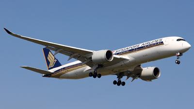 9V-SME - Airbus A350-941 - Singapore Airlines