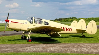 G-AKBO - Miles M38 Messenger 2A - Private