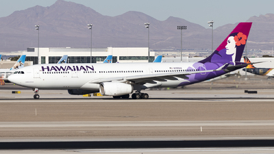 A picture of N390HA - Airbus A330243 - Hawaiian Airlines - © David Lee