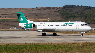 A picture of YRFKB - Fokker 100 - Carpatair - © Zoltán Gyurka