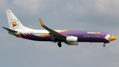 A picture of HSDBA - Boeing 7378AS - Nok Air - © Dave Potter