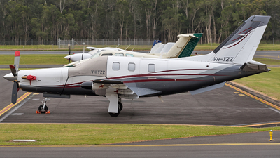 VH-YZZ - Socata TBM-700 - Private