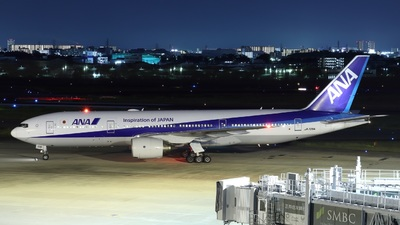 JA708A - Boeing 777-281(ER) - All Nippon Airways (ANA)