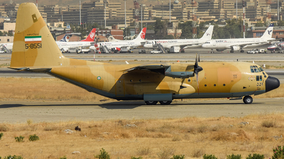 5-8551 - Lockheed C-130H Hercules - Iran - Air Force