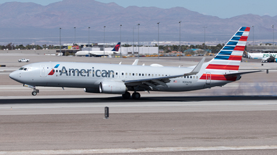 A picture of N306PB - Boeing 737823 - American Airlines - © Yixin Chen