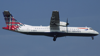 G-BWTM - ATR 72-202 - British Airways (CityFlyer Express)